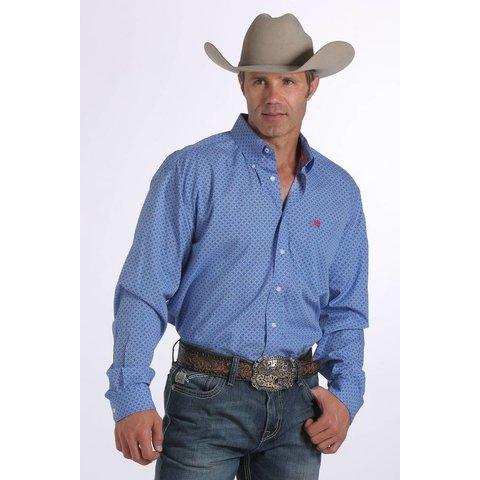 Men's Cinch Button Down Shirt MTW1104254-ROY C3 2XL