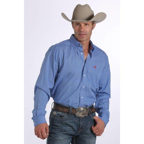 Cinch Men's Cinch Button Down Shirt MTW1104254-ROY C3 2XL