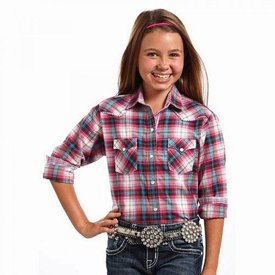Panhandle Girl's Panhandle Snap Front Shirt C6S3810 C3 Large