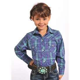 Panhandle Girl's Panhandle Snap Front Shirt C6S4663 C3 Medium