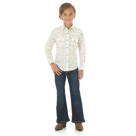 Wrangler Girl's Wrangler Snap Front Shirt GW3071M C3 Large