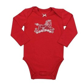 Wrangler Infant's All Around Baby by Wrangler Bodysuit PQK836R C3 18Months