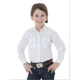 Wrangler Girl's Wrangler Snap Front Shirt GW8211W C3 XXS(2)