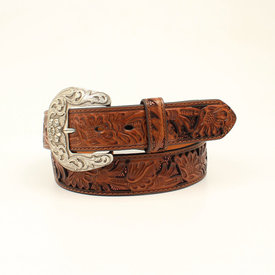 Nocona Belt Co. Women's Sequined Underlay Western Belt