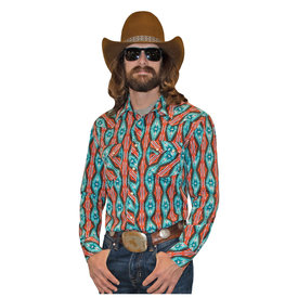 Rock & Roll Cowboy Men's Rock & Roll Cowboy Snap Front Shirt B2S2331
