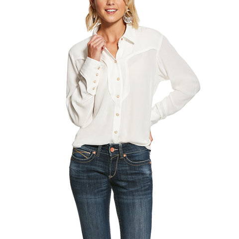 Women's Ariat Ride Um Snap Front Shirt 10028390