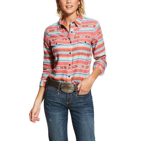 Ariat Women's Ariat R.E.AL. Brave Snap Front Shirt 10028368