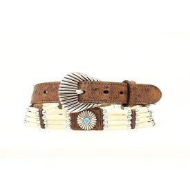 Nocona Belt Co. Women's Bead and Concho Belt