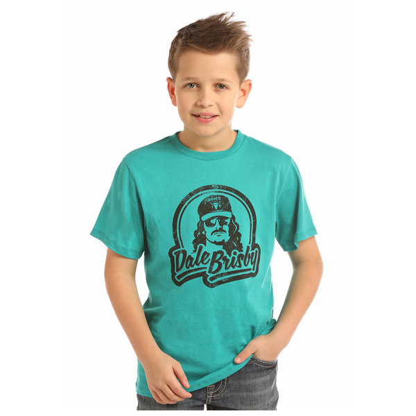 ROCK&ROLL DENIM Boy's Rock & Roll Cowboy T-Shirt P3T2264