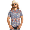 Men's Rock & Roll Cowboy T-Shirt P9-2269