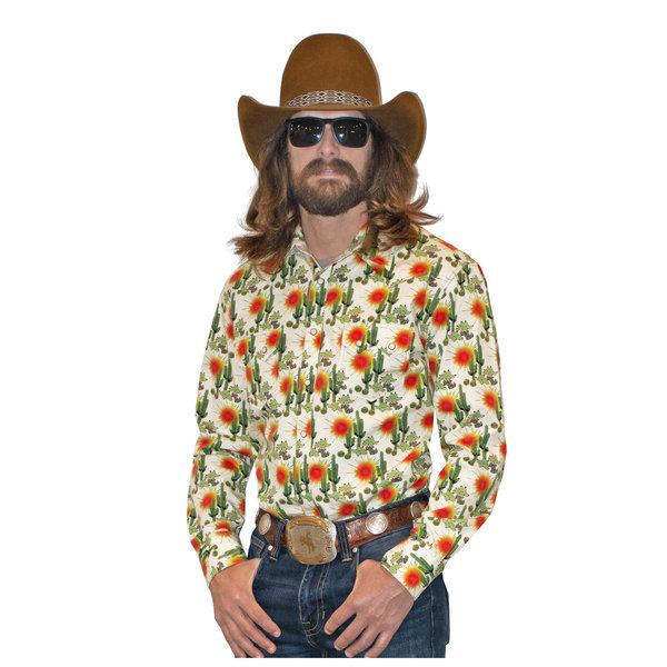 ROCK&ROLL COWBOY Men's Rock & Roll Cowboy Snap Front Shirt B2S2330