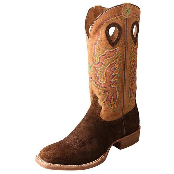 Twisted X Men's Twisted X Ruff Stock Boot C3 12 D