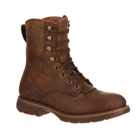 Durango Men's Durango Workin' Rebel Steel Toe Waterproof Western Lacer Boot DDB0066 C4 13 D