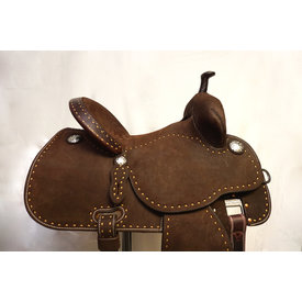 Martin Martin Chocolate Stingray Barrel Saddle