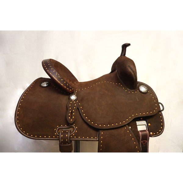 Martin Martin Chocolate Stingray Barrel Saddle