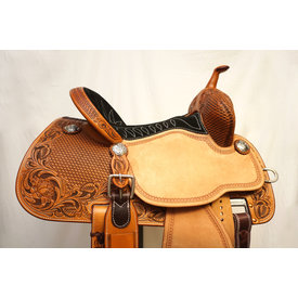 Martin Saddlery Martin Natural Stingray Barrel Saddle