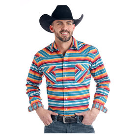 Panhandle Men's Rough Stock Snap Front Shirt R0S2168