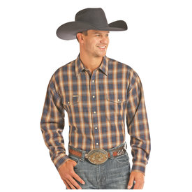 POWDER RIVER OUTFITTERS Men's Powder River Snap Front Shirt 36S2290