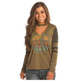 Rock and Roll Cowgirl Women's Rock & Roll Cowgirl T-Shirt 48T2866