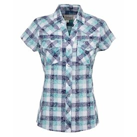 Outback Trading Company Women's Outback Trading Company Snap Front Shirt 2220-BLU