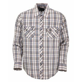 Outback Trading Company Men's Outback Trading Snap Front Shirt 42701-BRN