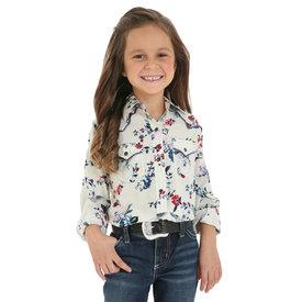 Wrangler Girl's Wrangler Snap Front Shirt GW3116M