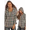 Women's Rock & Roll Cowgirl Snap Front Shirt B4S9120 C3 LARGE