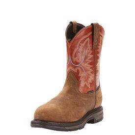Ariat Men's Ariat WorkHog Waterproof Carbon Toe Work Boot 10024964 C4