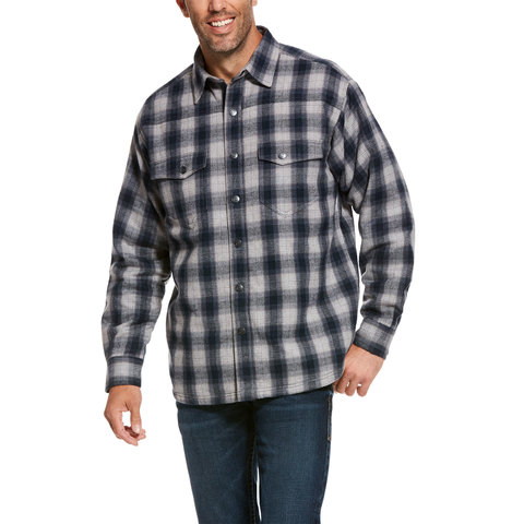 Men's Ariat Fenrir Flannel Shirt Jacket 10027990