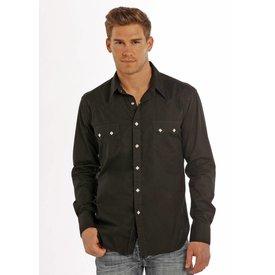 ROCK&ROLL COWBOY Men's Rock & Roll Cowboy Snap Front Shirt B2S9063 C4 XX-Large