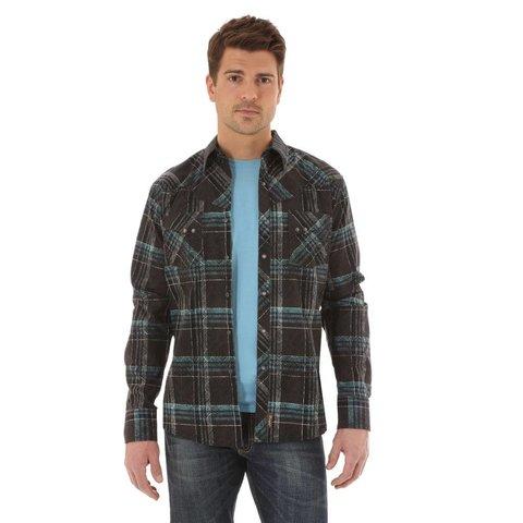 Men's Wrangler Snap Front Shirt MVR270M C4 XLT