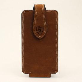 Ariat Medium Brown Cell Phone Case