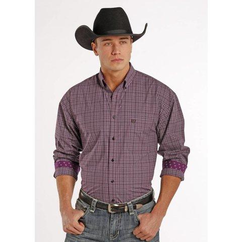 Men's Panhandle Button Down Shirt 36D8118 C4 X-Large