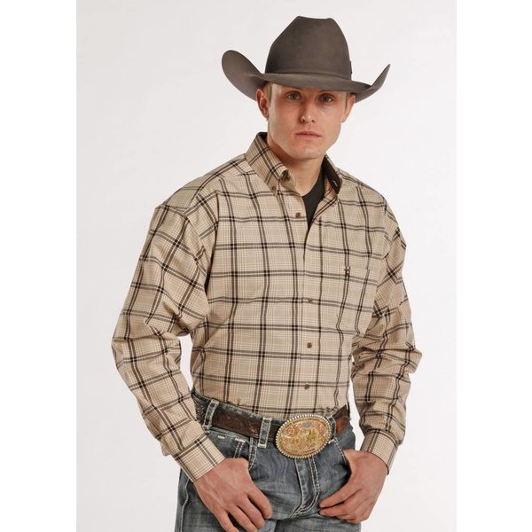 Panhandle Men's Tuf Cooper Button Down Shirt TCD8753 C4 X-Large