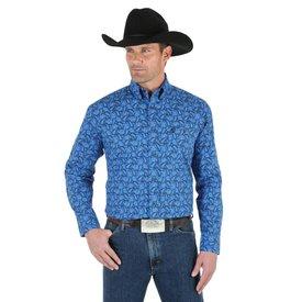 Wrangler Men's Wrangler George Strait Snap Front Shirt MGSB299 C4  2XL