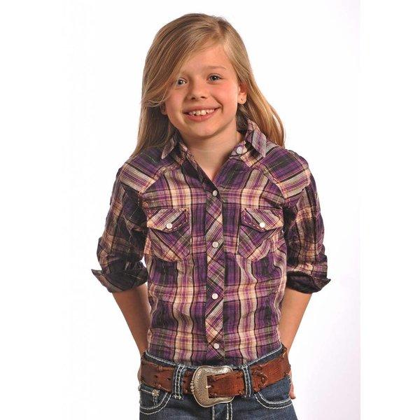 Panhandle Girl's Panhandle Snap Front Shirt C6S5466 C3 Medium