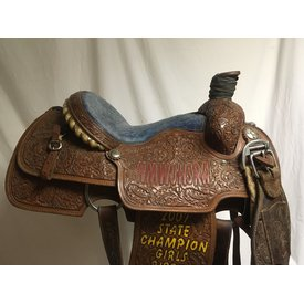 Jerry Beagley Full Tooled Roper