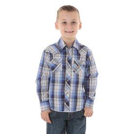 Wrangler Boy's Wrangler Snap Front Shirt BVG133M