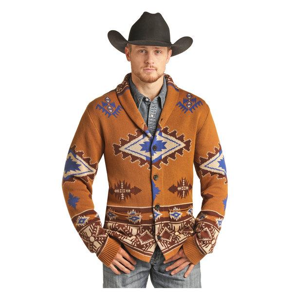Rock & Roll Cowboy Men's Rock & Roll Cowboy Sweater 92-2703
