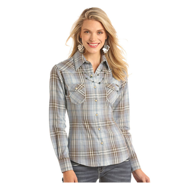 POWDER RIVER OUTFITTERS Women's Powder River Snap Front Shirt 22S2296