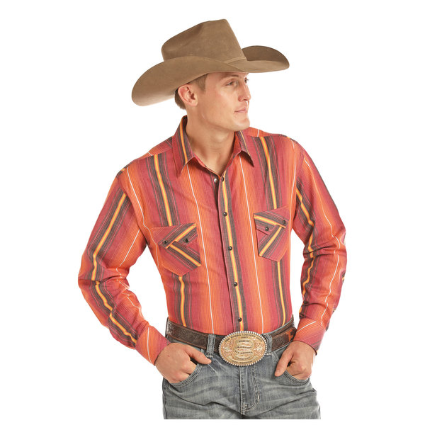 Panhandle Men's Tuf Cooper Snap Front Shirt TCS2604