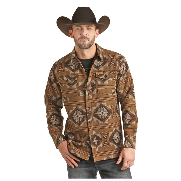 POWDER RIVER OUTFITTERS Men's Powder River Shirt Jacket 92-2687