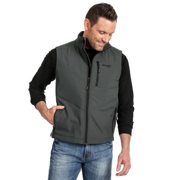 Wrangler Men's Wrangler Conceal Carry Trail Vest MJK42CH