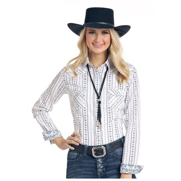 Panhandle Women's Rough Stock Snap Front Shirt R4S3198