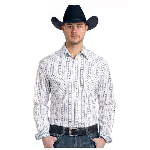 Men's Rough Stock Snap Front Shirt R0S3198