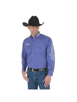 Wrangler Men's Wrangler Logo Long Sleeve Shirt MP2305M