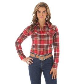 Wrangler Women's As Real As Wrangler Snap Front Shirt LRW852M C3