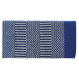 American Heritage Equine AHE DOUBLE WEAVE 32X64 210 BLUE/BLACK/NATURAL