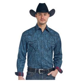 Panhandle Men's Rough Stock Snap Front Shirt R0F3185
