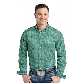 Panhandle Men's Rough Stock Button Down Shirt R0D3190